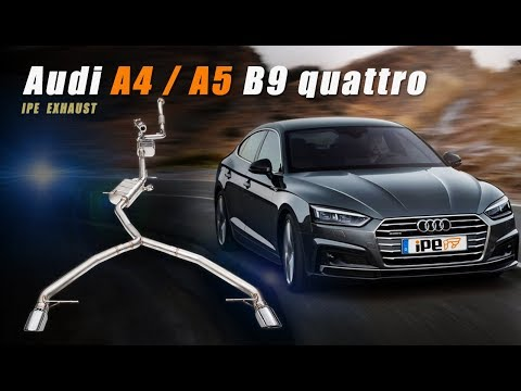 The iPE Exhaust for Audi A4 / A5 (B9) TFSI quattro