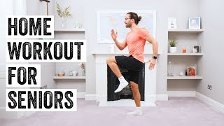 10 Minute Home Workout For Seniors | The Body Coach TV