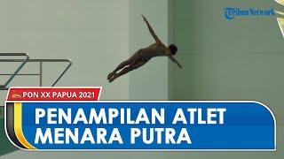 Pertandingan Cabor Loncat Indah Menara Putra di PON Papua, Jawa Timur & DKI Jakarta Kantongi 3 Emas