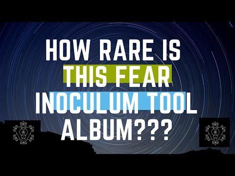 Tool's Fear Inoculum Star Variants? Rare one?