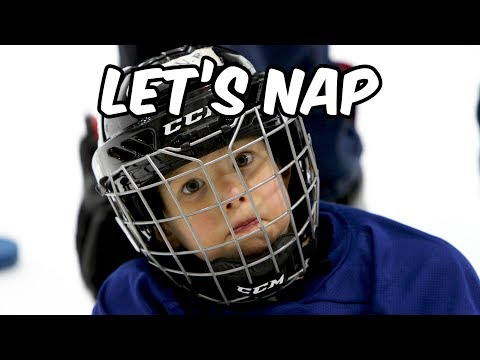 A Dad mic'd up his 4 year old at Hockey practise, its as cute as it sounds.