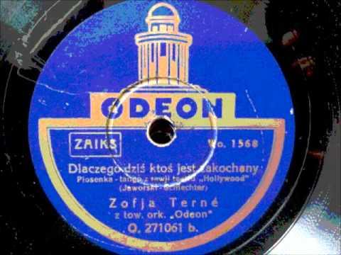 Dlaczego dziś ktoś jest zakochany - Zofja Terne - Odeon O271061 DoGramofonu.PL