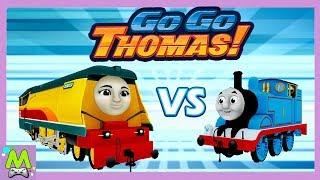 Гонки Паровозика Томаса/Go Go Thomas.Открыты Все Карты.Приключения Продолжаются.Игра как Мультик