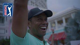 Tiger Woods Wins Hero Shot At Baha Mar