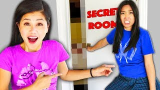 REGINA SECRET ROOM REVEAL! Spending 24 Hours Finding Files in the Most Mysterious Safe House Place