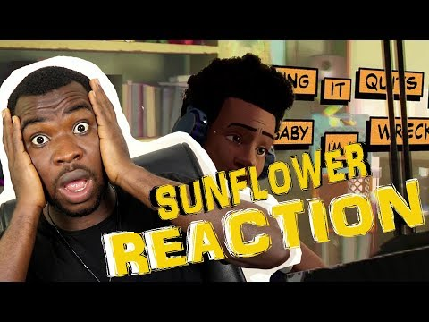 Post Malone, Swae Lee - Sunflower (Spider-Man: Into the Spider-Verse) | REACTION | AFRICANS REACT