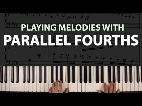Playing Parallel Fourths: An Advanced Jazz Melody Trick