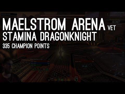 Maelstrom Arena vet Stam DK 335 CP - Live Stream Elder Scrolls Online ESO