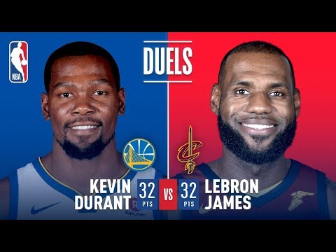 Kevin Durant and LeBron James Duel, Each Score 32 Pts | January 15, 2018