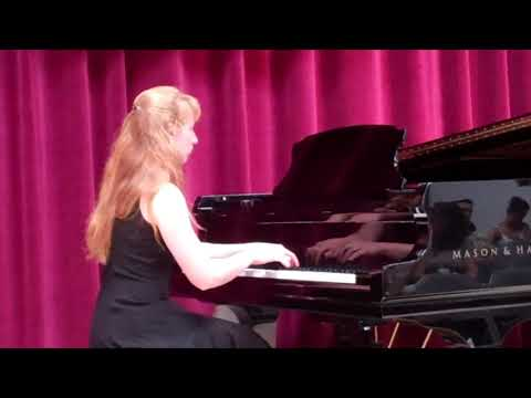 Heather Performs Etude-Tableau in G Minor Op. 33, No, 8 by F. Chopin