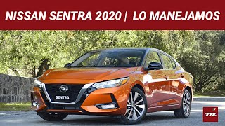 Nissan Sentra 2020, lo manejamos y no se parece en nada al anterior (y eso es bueno)