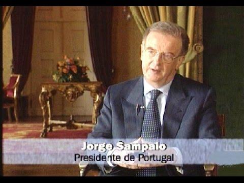 Jorge Sampaio, presidente de Portugal, entrevistado en Canal Sur (1998)