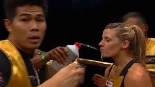 Christina Jurjevic fight highlights best moments Muay Thai, Shootboxing, MMA