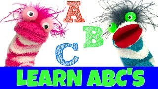 Learn the Alphabet ABCs with Fizzy and Phoebe