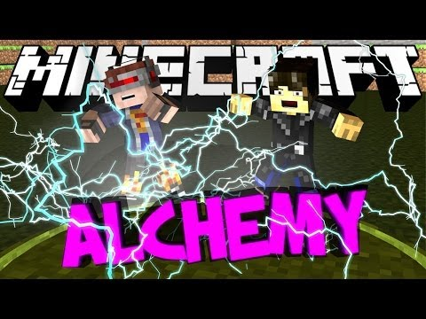 Minecraft Mod Showcase : Alchemy Craft Mod (WEREWOLF)