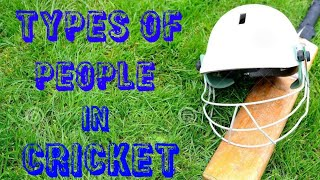 Types of People in Cricket | Video By Heaven Stars | Funny Video |