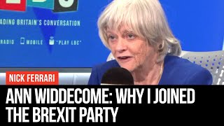Ann Widdecome: Why I Joined The Brexit Party   Nick Ferrari   LBC