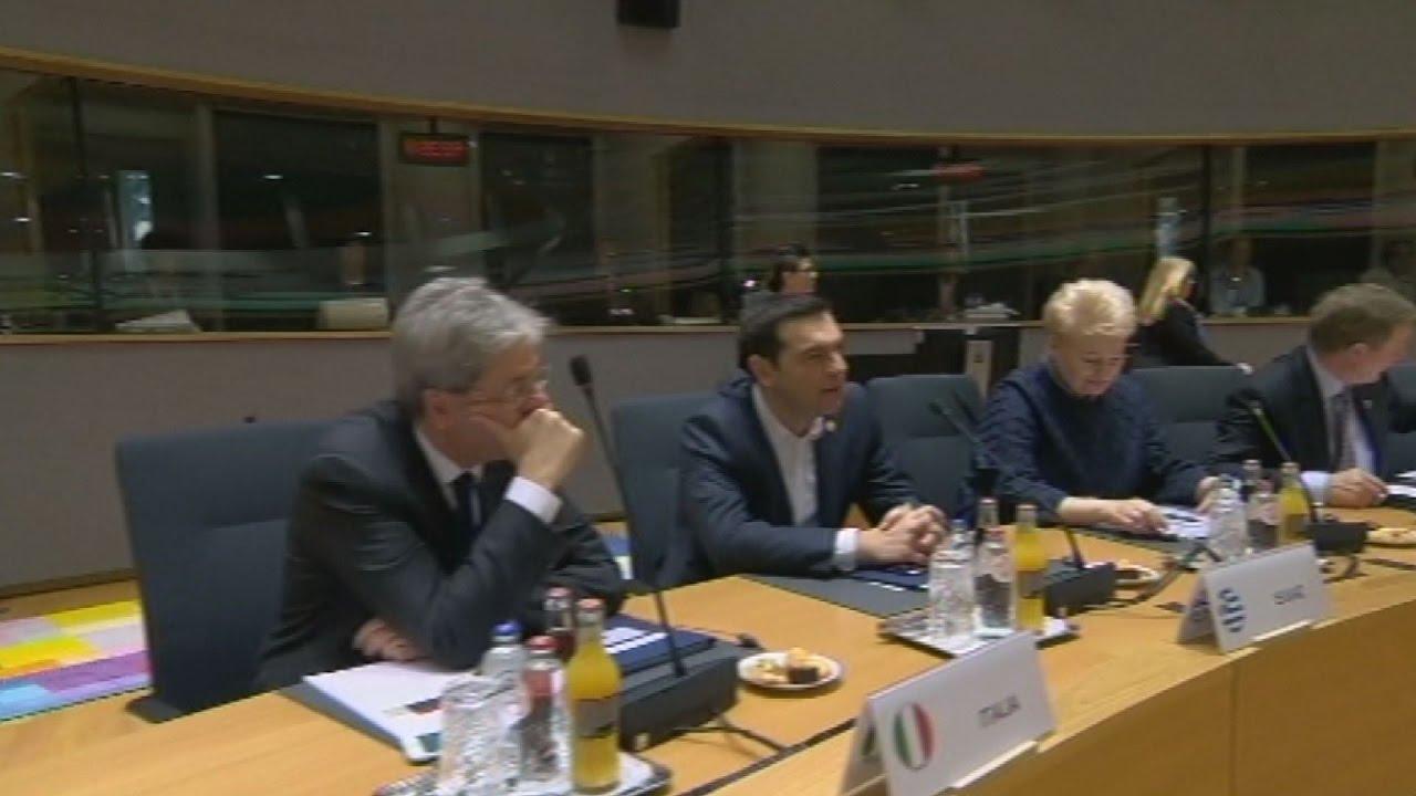 Δεύτερη ημέρα της ευρωπαϊκής συνόδου κορυφής στις Βρυξέλλες