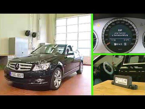 Mercedes-Benz C-Klasse | Das ESP zeigt eine Fehlermeldung (W204)