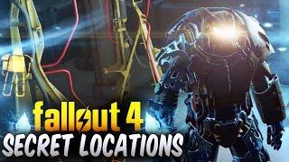 Fallout 4 Secret Locations - Top 5 Secret Locations & Hidden Areas (Fallout 4 Secrets)