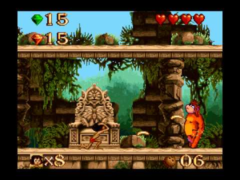 [TAS] SNES The Jungle Book, Disney's by Newpants87 in 16:27,54