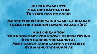 Raat Jashan Di | Lyrics Video | ZORAWAR | Yo Yo Honey
