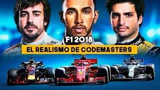 GAMEPLAY F1 2018: El REALISMO de CODEMASTERS