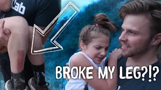 Broke my Leg on Hike w/BrosNacion || Piper Rockelle