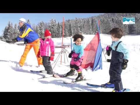 Familien Skifahren Bayern Deutschland: Kinderskikurs im Berchtesgadener Land
