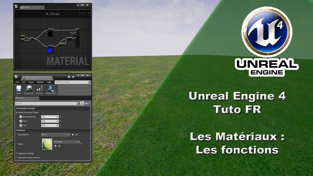 [UE4 TUTO FR] Material - Fonction