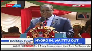 Governor Nyoro: Over the next two weeks, we will be forming Kiambu advisory council