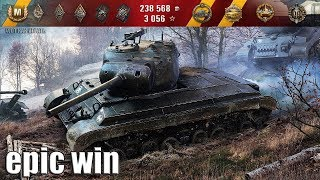 T25 Pilot Number 1 EPIC WIN 🌟 КОЛОБАНОВ, 11 ФРАГОВ 🌟 World of Tanks лучший бой Т25 Пилот