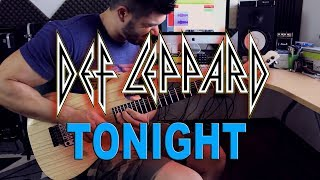 DEF LEPPARD | Tonight | GUITAR COVER