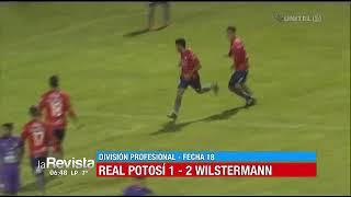 Apertura, Fecha 18: Real Potosí 1-2 Wilstermann
