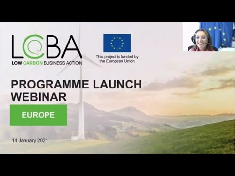 Low Carbon Business Action Launching webinar - 14/01/2021