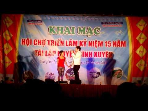 Khánh Phương tỏ tình em gái 14 tuổi trên sân khấu