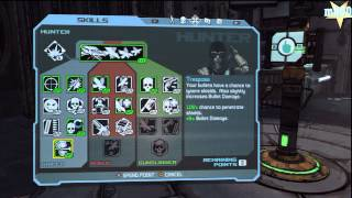 Borderlands: Hunter Skill Point Guide (Gameplay/Commentary) [HD]
