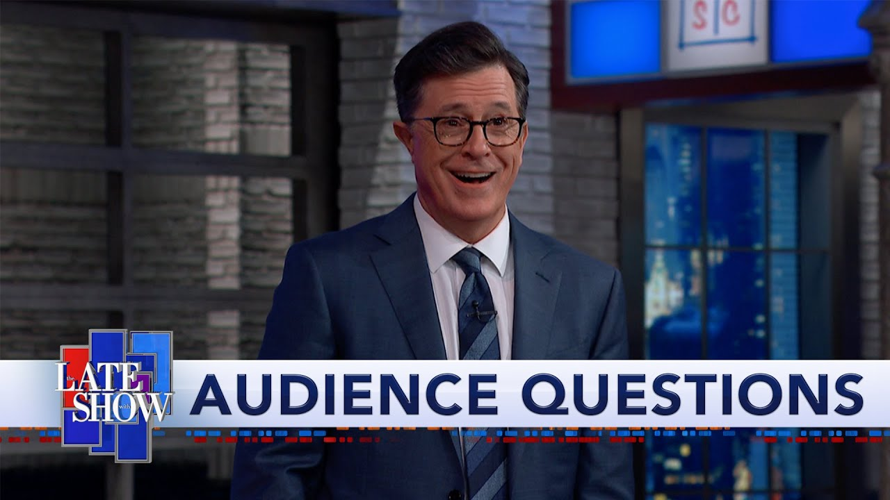 Stephen Colbert's Audience Q&A: Yes, I will Renew your Vows thumbnail