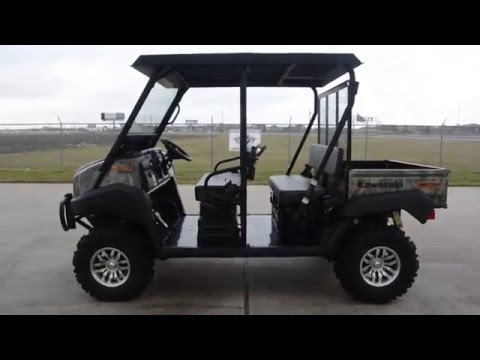 2016 Kawasaki Mule 4010 Trans4x4 Camo in La Marque, Texas - Video 1