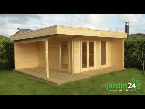 Como montar una caseta de jardín de madera o casa de madera