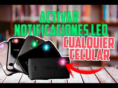 Activar  las NOTIFICACIONES LED  en Cualquier Celular Android NO ROOT / PERSONALIZAR ANDROID