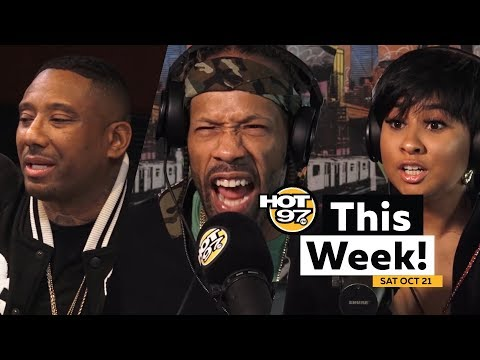 Redman, Maino, Tammy Rivera speak + RZA & SNS Freestyle @ HOT 97 This Week!