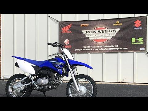 2021 Yamaha TT-R110E in Greenville, North Carolina - Video 1