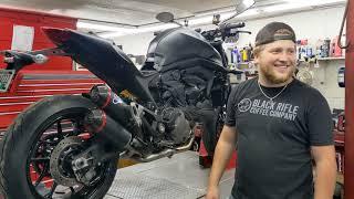2021 Ducati M937+ with Termignoni Exhaust!