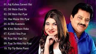 Best Of Udit Narayan & Songs Alka Yagnik 💖 EVERGREEN ROMANTIC SONGS_Awesome Duets _Superhit Jukebox