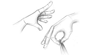 How to draw hands – easy step by step tutorials