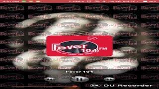 Delhi Kolkata Mumbai Chennai live FM Channels mobile App (Fever 104 FM)
