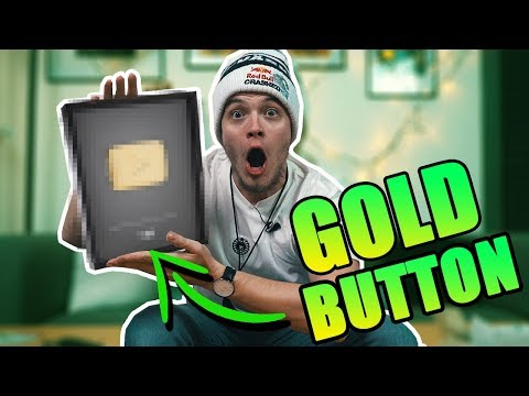 DOSTAL som GOLD PLAYBUTTON! Mejl Tajm