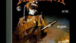 Megadeth (1988) So Far, So Good ...So What! *Full Album*