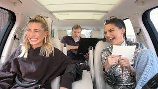 Carpool Karaoke: The Series - Kendall Jenner & Hailey Baldwin Take a Lie Detector Test